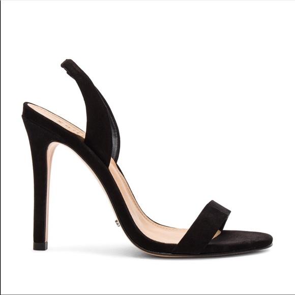 SCHUTZ Shoes - SCHUTZ LURIANE BLACK HEELS